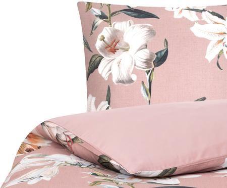 Baumwollsatin-Bettwäsche Flori mit Blumenprint