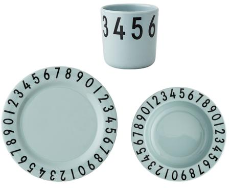 Set desayunos Numbers, 3 pzas.