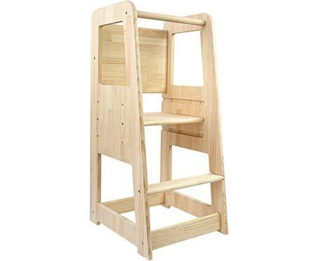 Mueble infantil en forma de torre Montessori