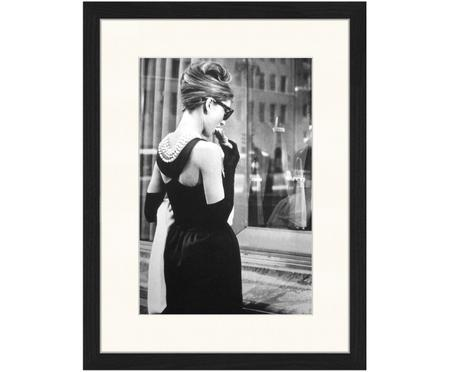 Ingelijste digitale print Breakfast at Tiffany's