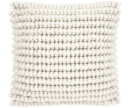 Povlak na polštář s malými textilními kuličkami Iona