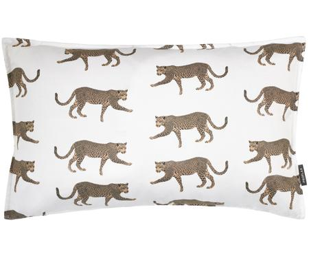 Housse de coussin imprimé leopard Tambo