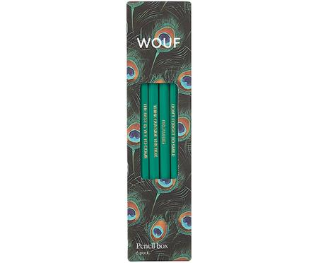 Bleistift-Set Peacock, 6-tlg.