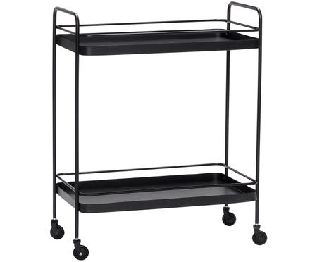 Zwarte bar cart Barclay