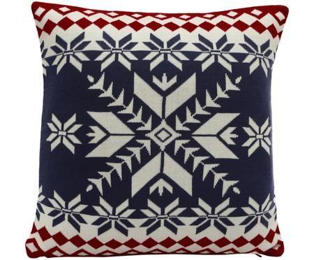 Federa natalizia lavorata a maglia Paul
