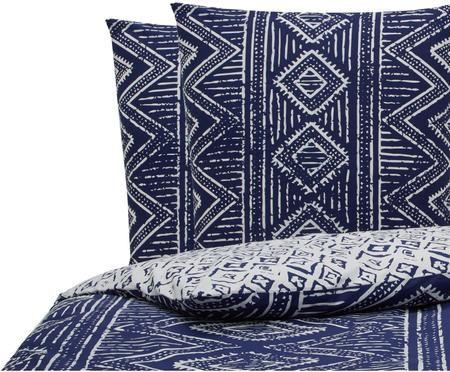 Parure de lit réversible en coton Paros