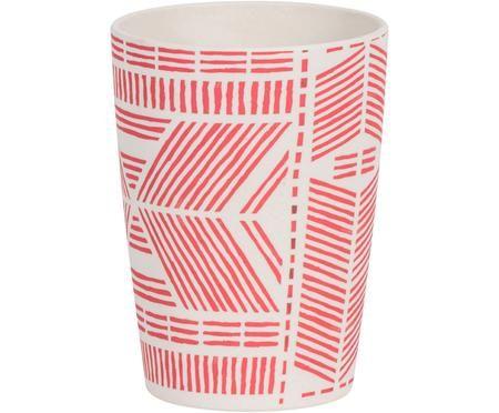 Taza de bambú Pintura