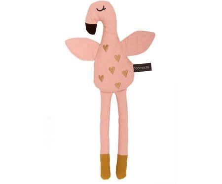 Plyšové zvířátko z organické bavlny Flamingo