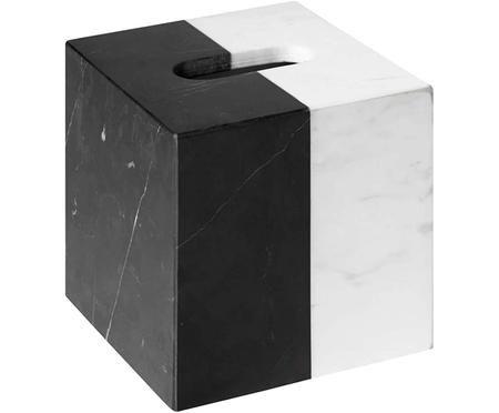 Caja de pañuelos de mármol Canaan