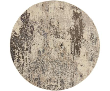 Rond design vloerkleed Celestial in beige