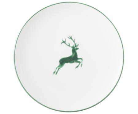 Assiette plate Cerf Vert Classic
