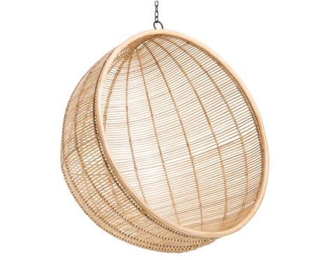 Rotan hangstoel Bowl