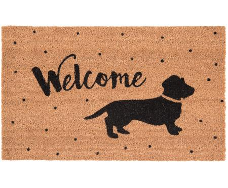 Deurmat Welcome Dog
