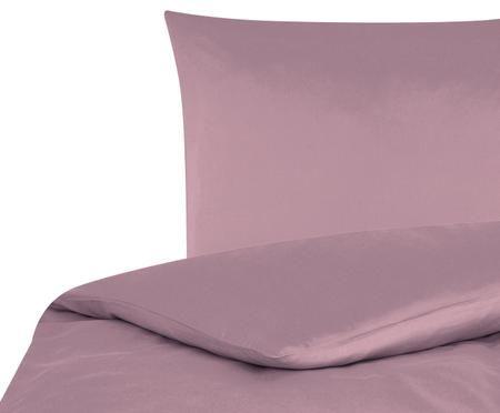 Baumwollsatin-Bettwäsche Comfort in Mauve