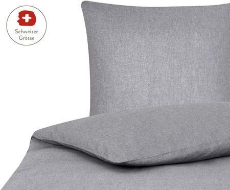 Bettdeckenbezug Cashmere in Grau