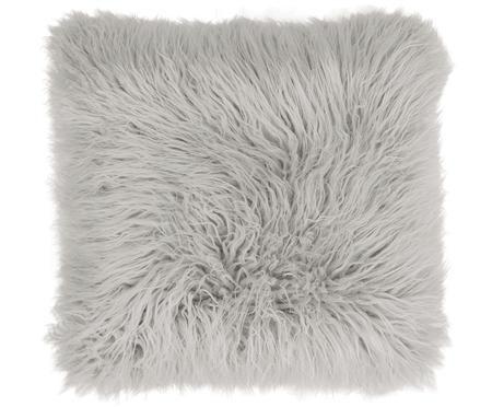 Poszewka na poduszkę ze sztucznego futra Morten, kędzierzawa