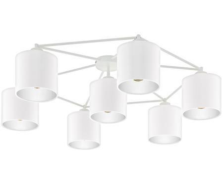 Stropná lampa Staiti, biela
