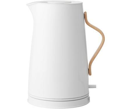 Wasserkocher Emma in Weiss glänzend