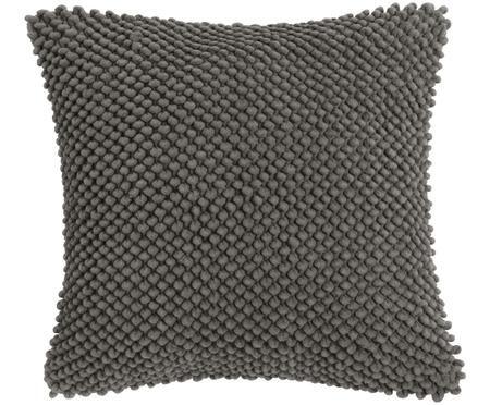 Coussin doux surface texturée Indi