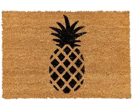 Zerbino antiscivolo in cocco Ananas