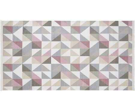 Vloerkleed Ciaran met Driehoekig patroon