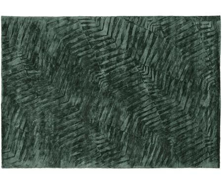 Ręcznie tuftowany dywan z wiskozy Leaf
