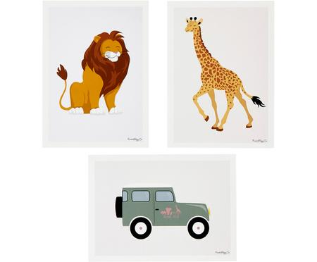 Poster-Set Jeep, 3-tlg.