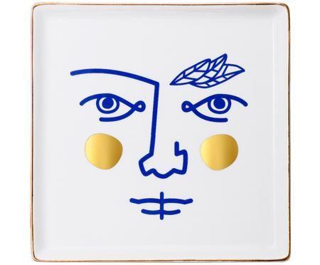 Ręcznie wykonana taca dekoracyjna Janus