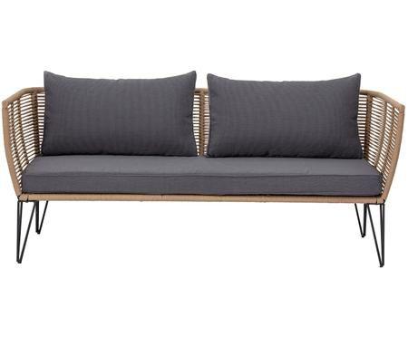 Garten-Loungesofa Mundo mit Kunststoff-Geflecht (2-Sitzer)