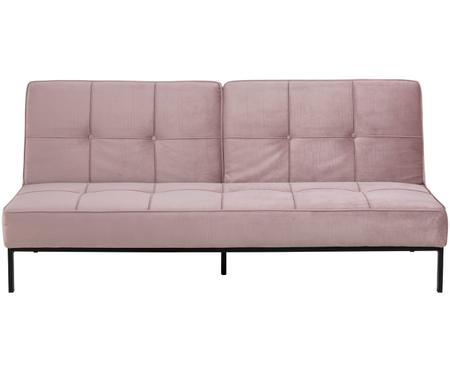 Sofá cama de terciopelo Perugia