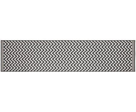 In- und Outdoorläufer Palma mit Zickzack-Muster, beidseitig verwendbar