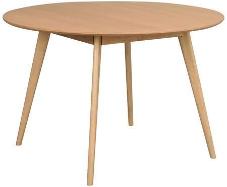 Mesa de comedor de madera maciza Yumi