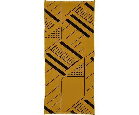Strandtuch Mawi mit grafischem Muster