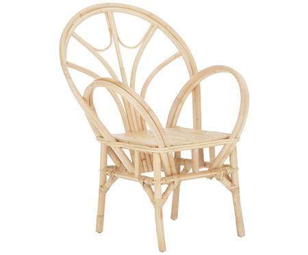 Krzesło z podłokietnikami z rattanu Kosdina