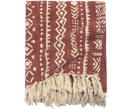 Plaid Masai mit grafischem Muster