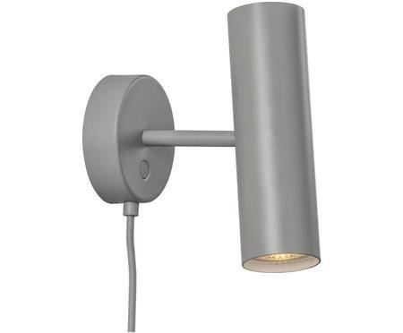 Applique en métal gris Mib