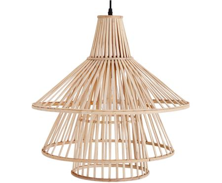 Závěsné svítidlo z bambusu Kamil