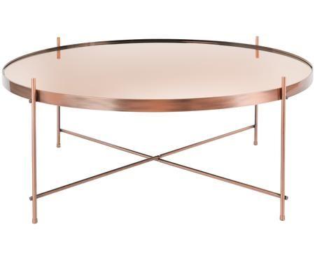 Mesa de centro Cupid, tablero de cristal
