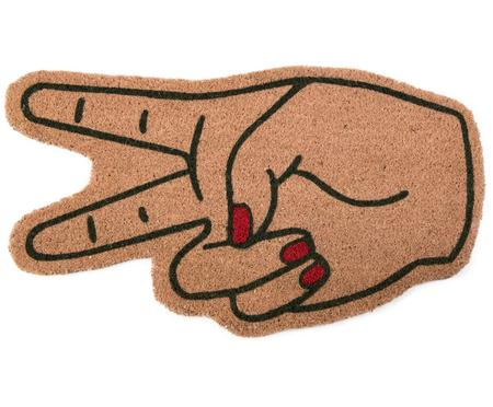 Zerbino in cocco a forma di mano Hands