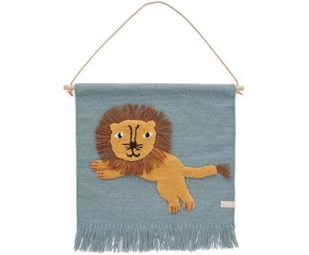 Wandobjekt Lion