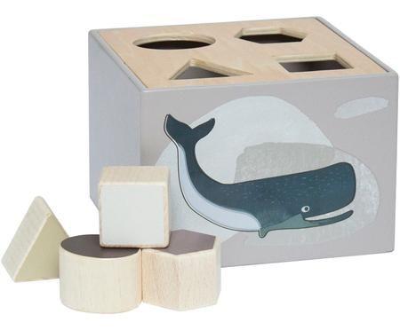Gioco educativo con forme in legno Artic Animals