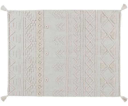 Tappeto in cotone con motivo taftato Tribu