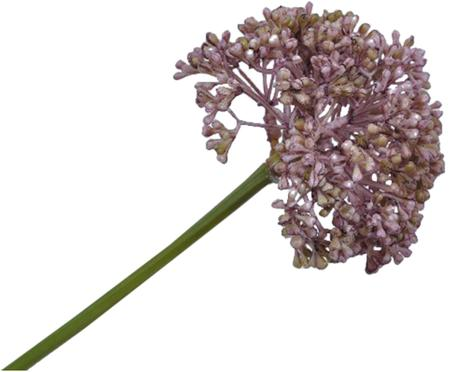 Flor artificial puerro Lidia