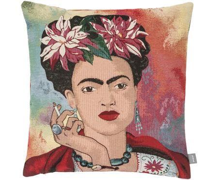 Kissenhülle Frida Kahlo in Bunt