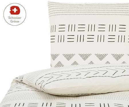 Perkal-Bettdeckenbezug Kohana im Boho Style
