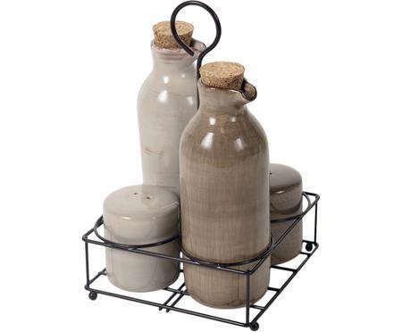Essig- und Öl-Karaffen-Set Baita, 5-tlg.