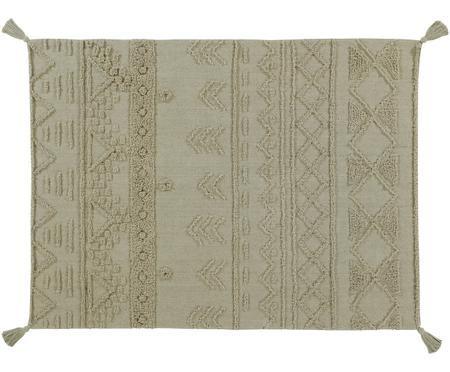 Alfombra Tribu, estilo étnico, lavable