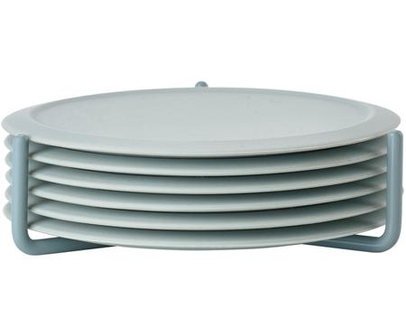 Silikon Untersetzer-Set Plain, 7-tlg.