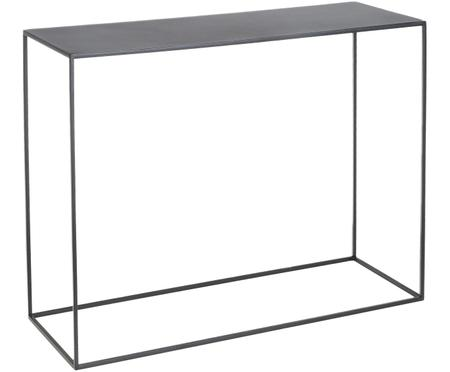 Metalen sidetable Tensio in zwart