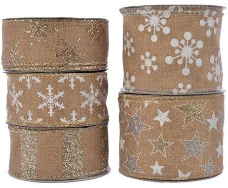 Set de cintas decorativas Nice 11, 5 pzas.